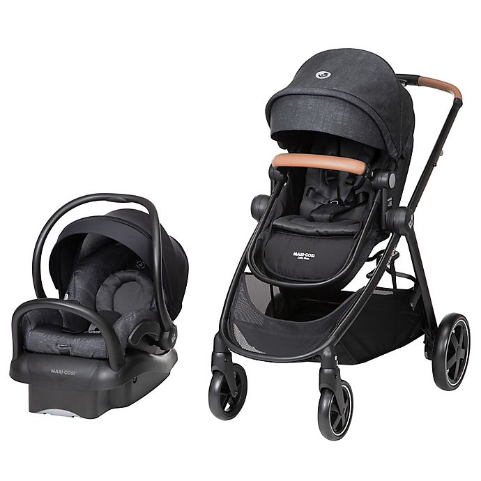 Alternate image 1 for Maxi-Cosi® Zelia Max 5-in1 Travel System in Umber Black