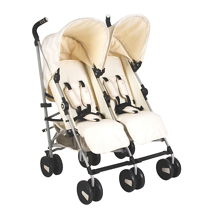 Alternate image 1 for Your Babiie™ US22 Compact Double Stroller