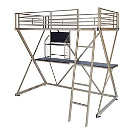 Powell Baines Loft Twin Bunk Bed