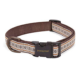 Pendleton® Westerley Small Dog Collar in Brown
