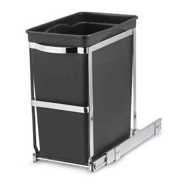 Simplehuman 174 Commercial Grade 30 Liter Pull Out Trash Can