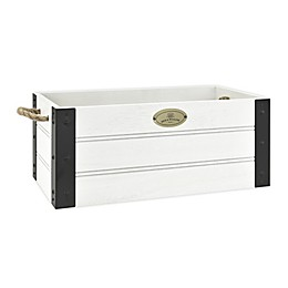 Bee & Willow™ Home Storage Crate in White