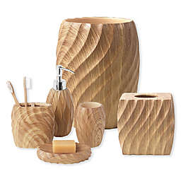 Wood Works Bath Accessory Collection