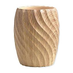 Wood Works Wastebasket in Natural