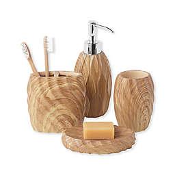 Wood Works 4-Piece Bath Set in Natural