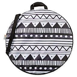 ONIVA™ Watercolor Boho Pop-Up Blanket in Black/White