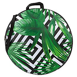 ONIVA™ Watercolor Tropical Pop-Up Blanket in Black/White