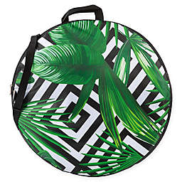 ONIVA™ Watercolor Tropical Pop-Up Blanket in Black/White