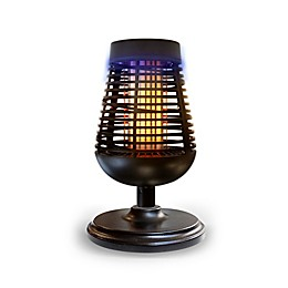 PIC® Solar Insect Killer Torch with LED Flame Effect in Black