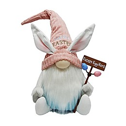 Easter Gnome Wooden Sign