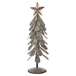 Glitzhome® 18-Inch Galvanized Metal Table Tree in Silver