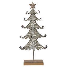 Glitzhome® 20.3-Inch Galvanized Metal Table Tree in Silver