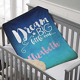 Sweet Dreams Baby Sherpa Blanket