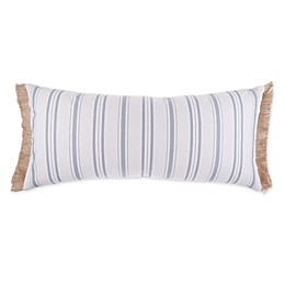 Bee & Willow™ Home Vintage Ticking Striped Oblong Throw Pillow in Cream