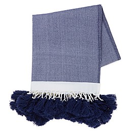 Bee & Willow™ Home Alcott Throw Blanket in Blue