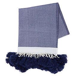 Bee & Willow™ Home with Lauren Liess Alcott Throw Blanket in Blue
