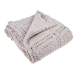 Bee & Willow™ Home with Lauren Liess Roxbury Throw Blanket in Beige