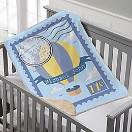 Special Delivery Sherpa Throw Blanket