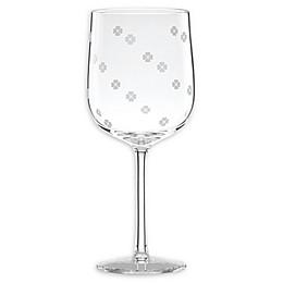 kate spade new york Clover™ Wine Glasses (Set of 2)