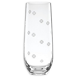 kate spade new york Clover™ Stemless Champagne Flutes (Set of 4)