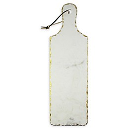 American Atelier 20-Inch White Marble Serving Board