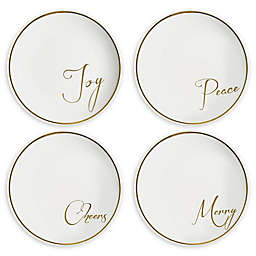 American Atelier Sentiments Salad Plates (Set of 4)