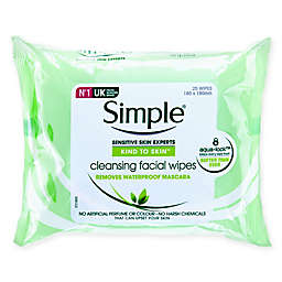 Simple® 25-Count Kind to Skin™ Cleansing Facial Wipes