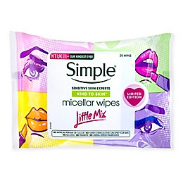 Simple® 25-Count Kind to Skin™ Little Mix Micellar Wipes