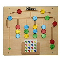 Little Partners Pattern Sequencing Education Board Learning Tower Accessory