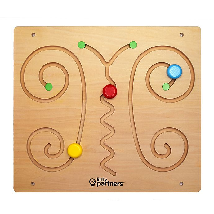 Alternate image 1 for Little Partners Butterfly Sensorial Education Board Learning Tower Accessory