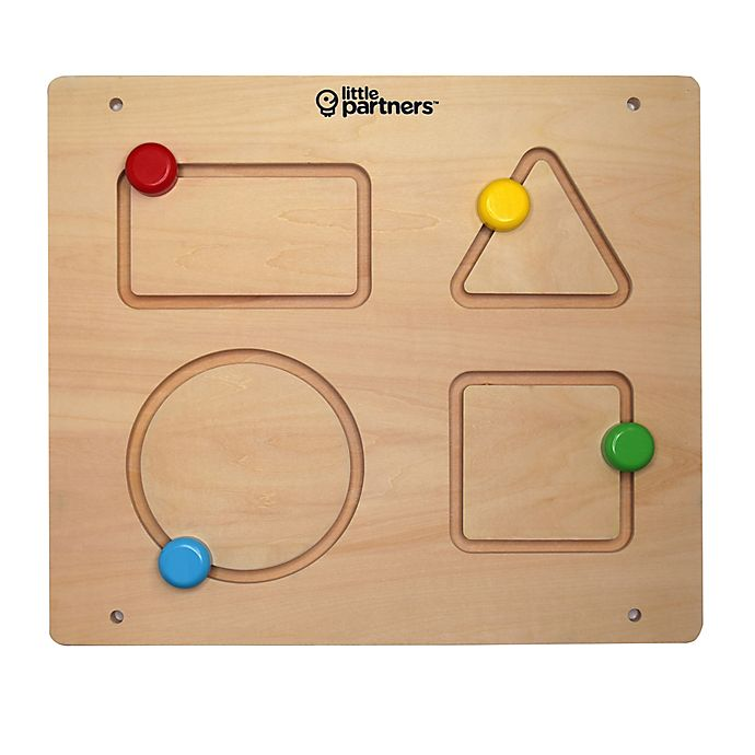Alternate image 1 for Little Partners Shapes Learning Education Board Learning Tower Accessory