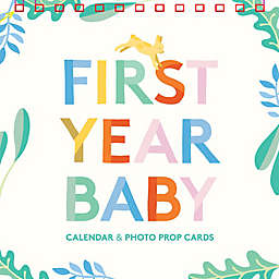 """Chronicle Books """"First Year Baby Calendar Memory"""" Book"""