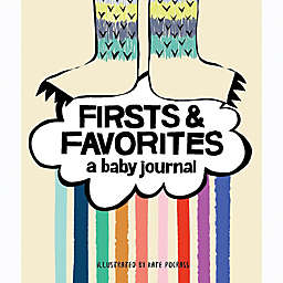 """Chronicle Books """"Firsts & Favorites Memory Book"""" by Kate Pocrass"""