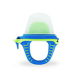 teetherpop™ Fillable Baby Teether Popsicle in Blue