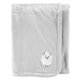 carter's® Velboa Lamb Receiving Blankets
