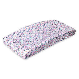 Copper Pearl™ Morgan Changing Pad Cover in Natural Floral