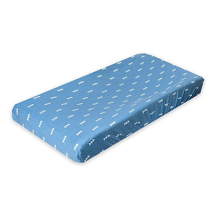 Alternate image 1 for Copper Pearl™ North Changing Pad Cover in Blue