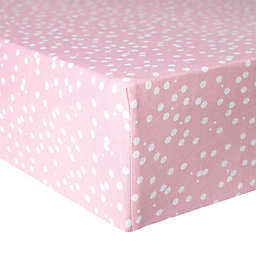 Copper Pearl™ Lucy Premium Fitted Crib Sheet in Pink