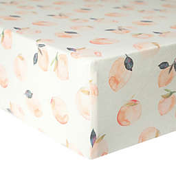 Copper Pearl Premium Fitted Crib Sheet