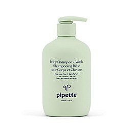 Pipette Baby 12 fl. oz. Fragrance-Free Baby Shampoo & Wash