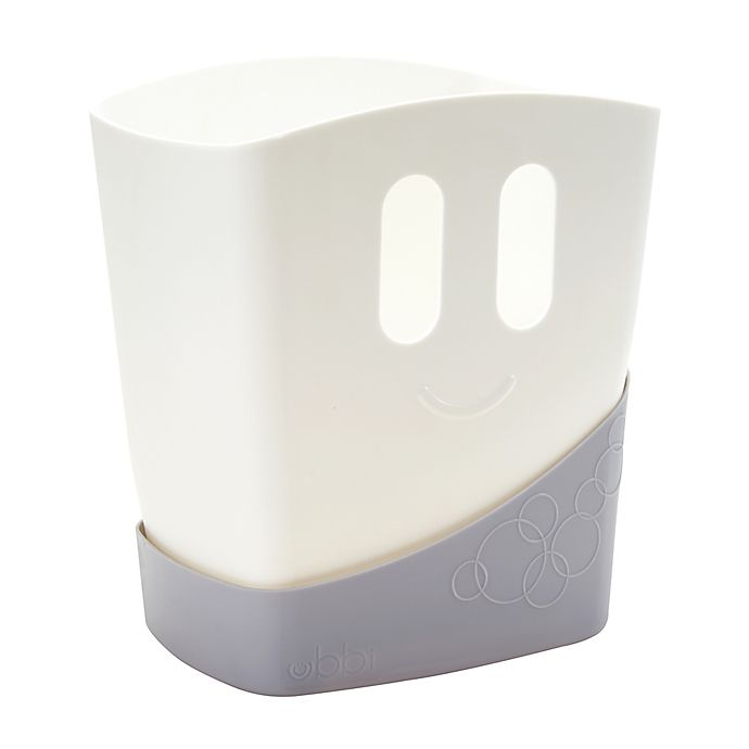 Alternate image 1 for Ubbi® Bath Toy Drying Bin in Grey