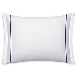 Vera Wang Zig Zag Collection Embroidered Throw Pillow