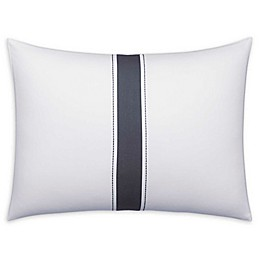 Vera Wang Zig Zag Collection Striped Throw Pillow