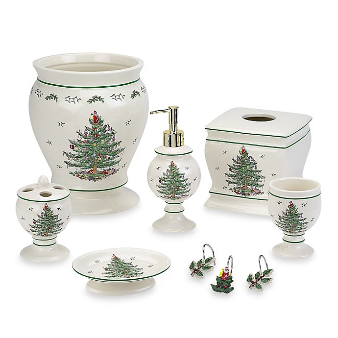 Spode Christmas Tree Bath Ensemble Bed Bath Beyond