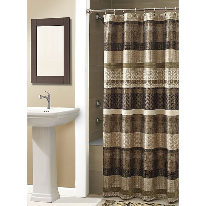 CroscillR Portland 70 Inch X 84 Shower Curtain In Bronze