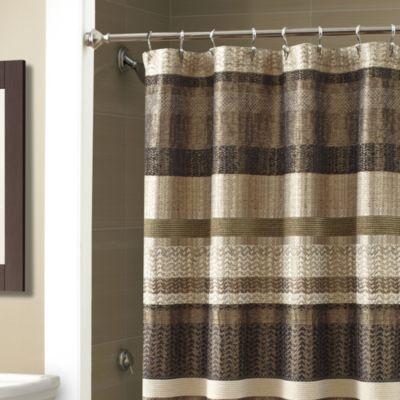 Croscill 174 Portland Shower Curtain In Black Bed Bath Amp Beyond