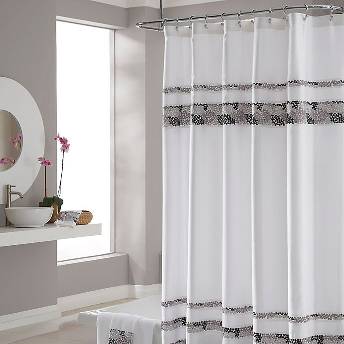 Croscill Deco Bain Tile 72 Inch X 84 Shower Curtain