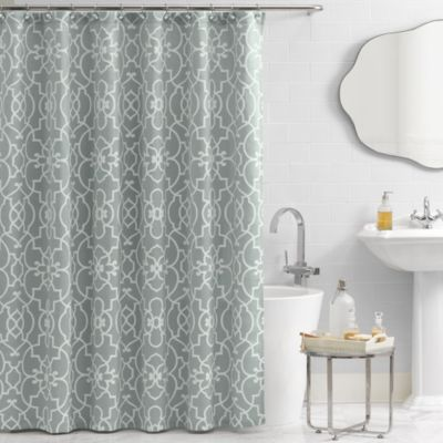VueR Signature Iron Gates 72 Inch X 84 Shower Curtain