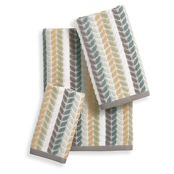 Alternate image 1 for Bee & Willow™ Home Fern Tile Towel Collection