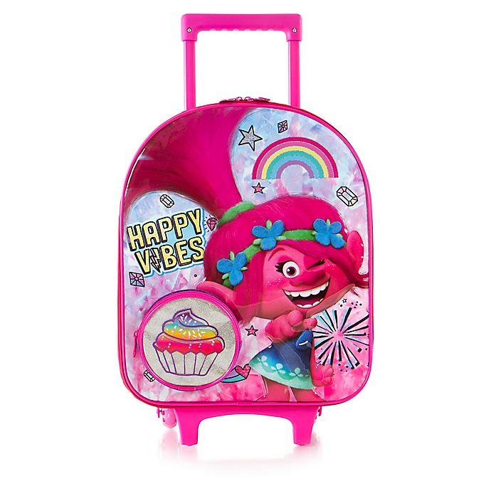 Alternate image 1 for Heys® Trolls Kid's Dome-Shaped Wheeled Carry On Luggage